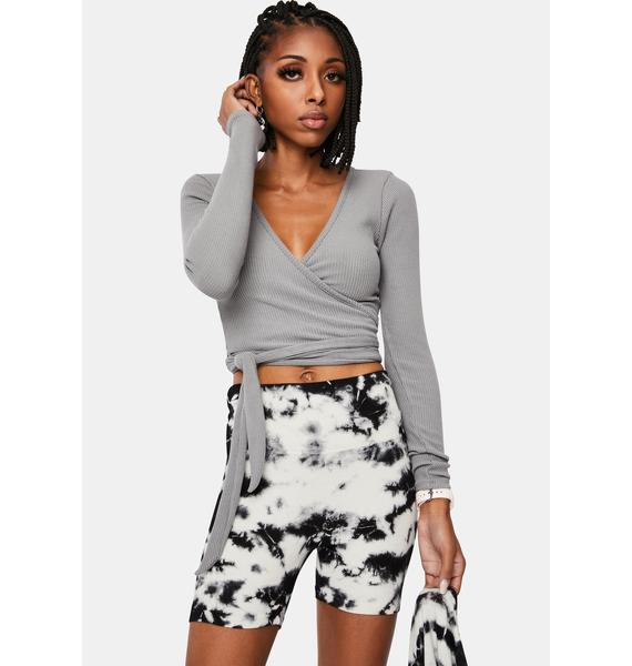 Can Only Imagine Wrap Crop Top
