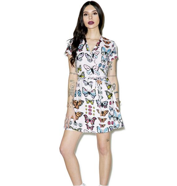 Valfré Flutter Wrap Dress