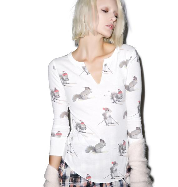 All Things Fabulous Squirrel Thermal Top