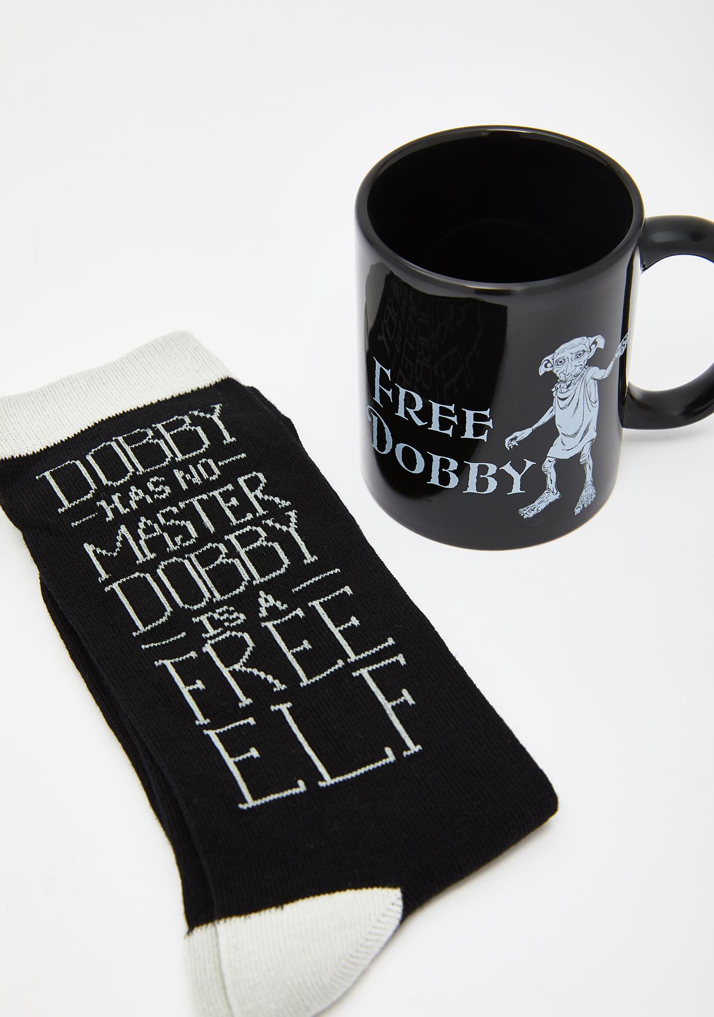 Free Dobby Mug N' Sock Set