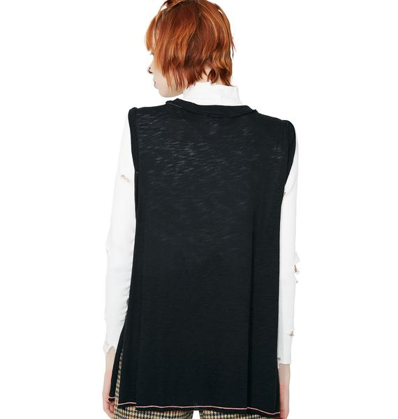 Rockin' Out Cut-Out Graphic Tank