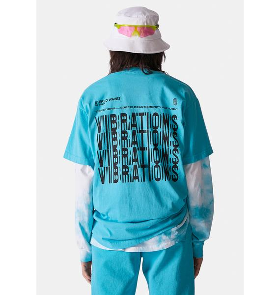 Surf is Dead Vibrations Graphic Tee