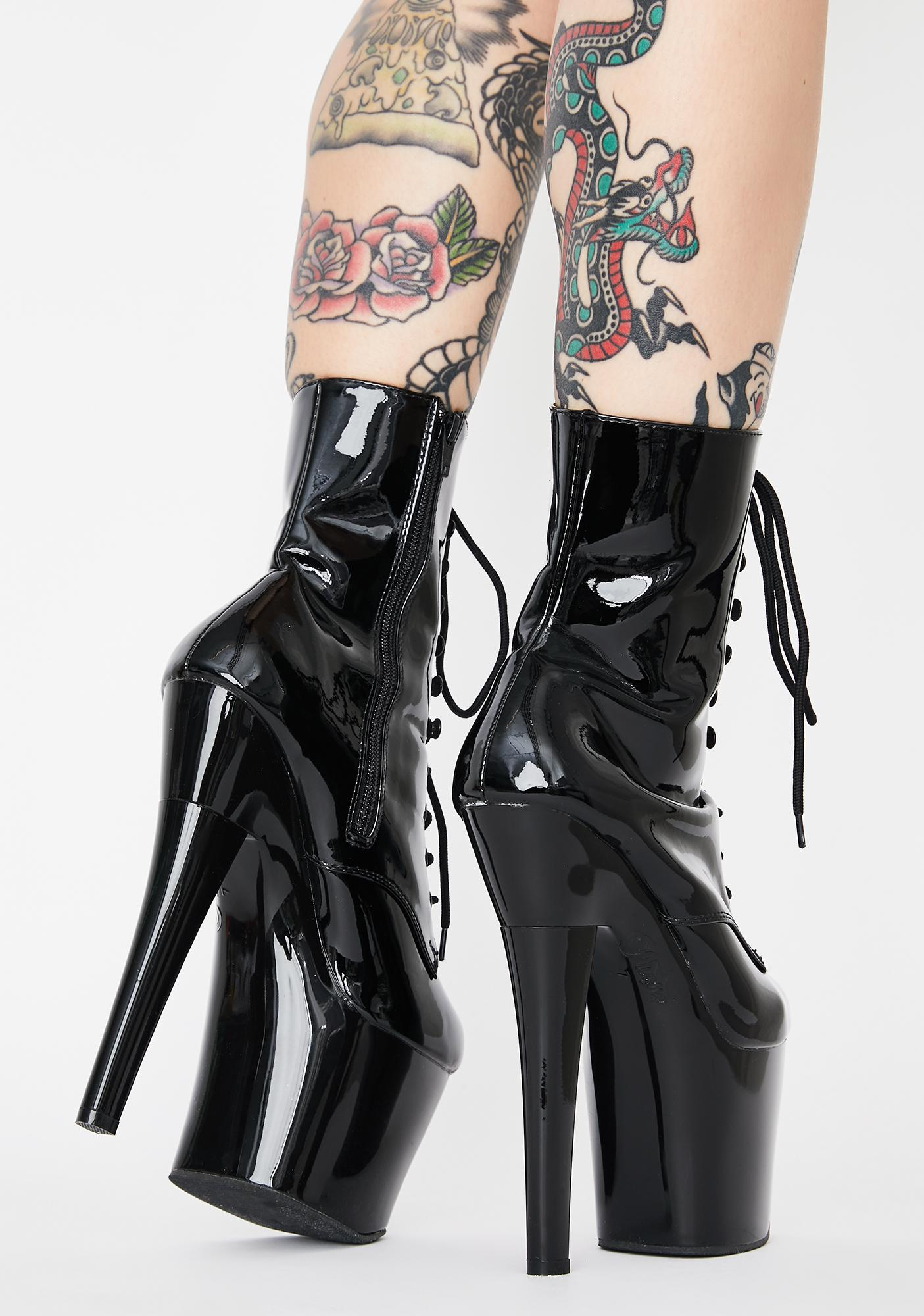 Pleaser Night To Forget Stiletto Boots