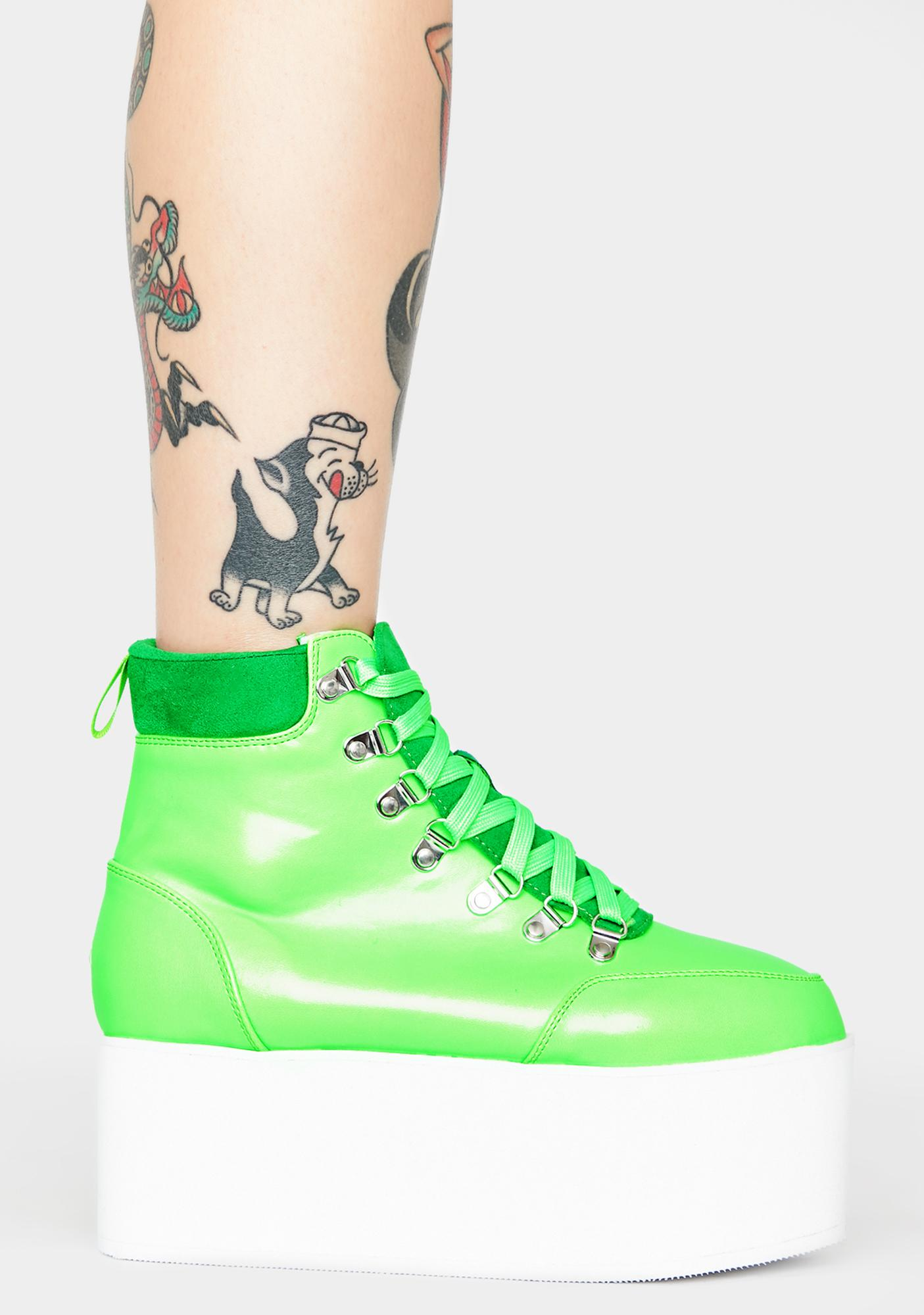 Kush All Time High Platform Boots