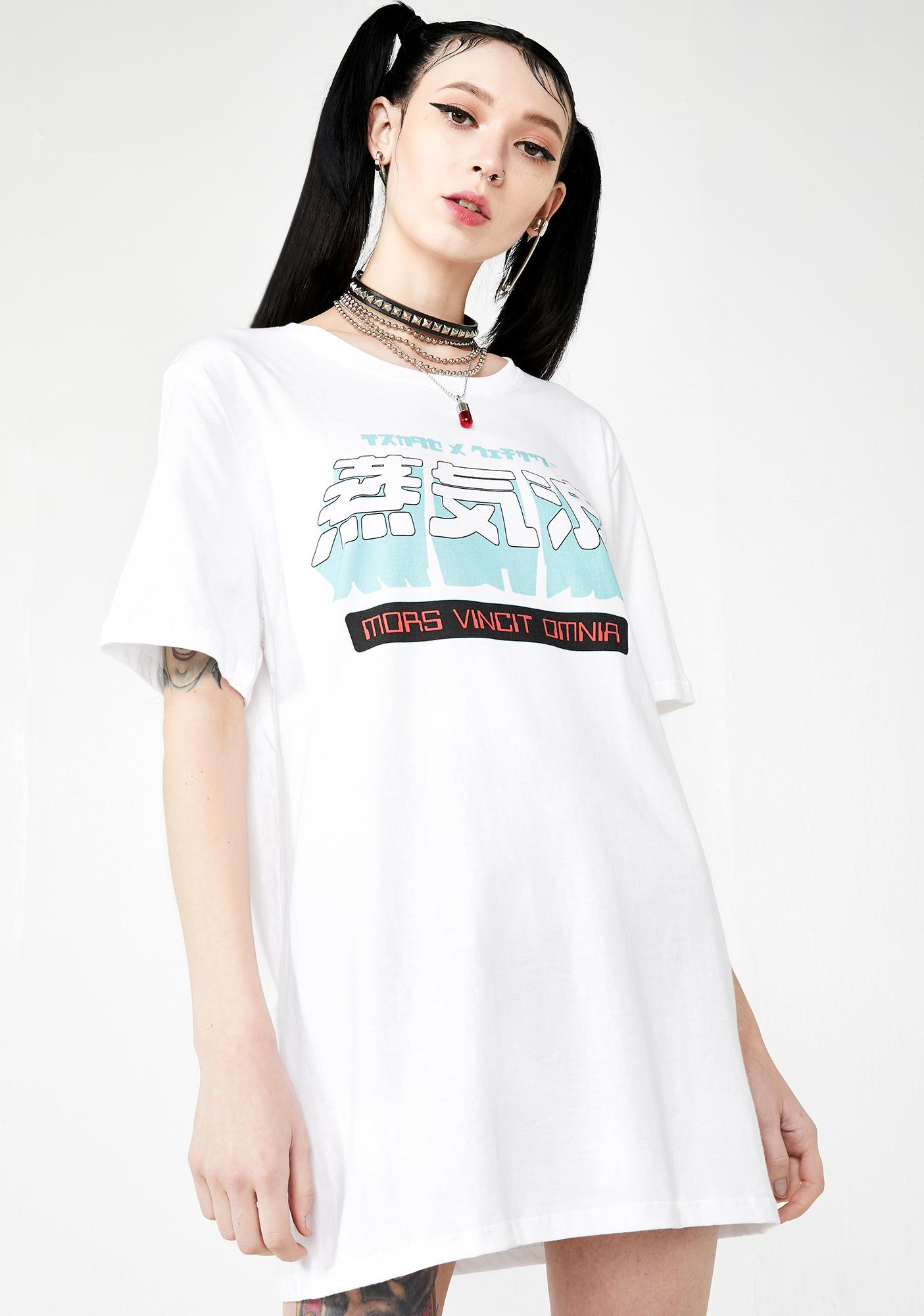 Vapor95 Death Conquers All Graphic Tee
