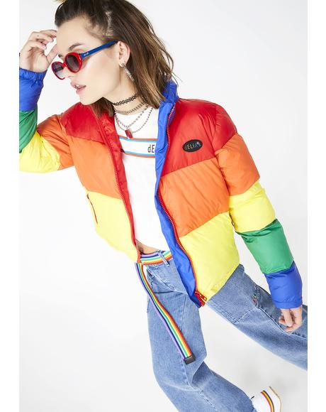 New Babe On The Block Puffer Jacket