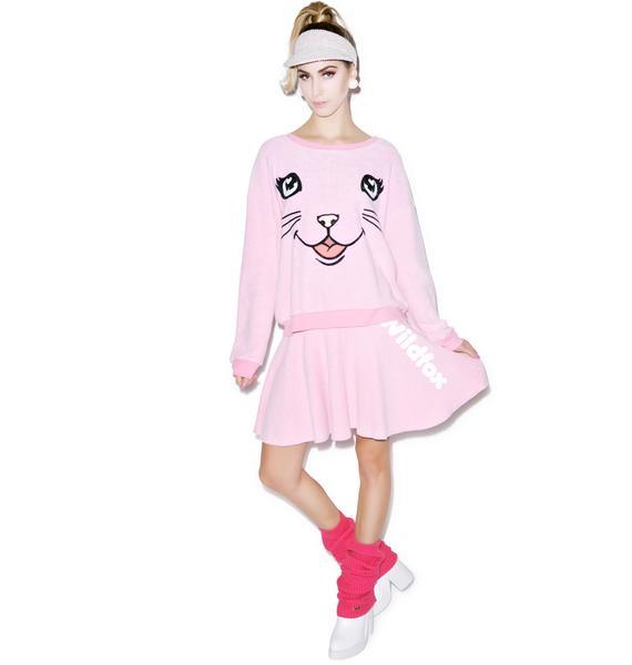 Wildfox Couture Vintage Sport Mini Skirt