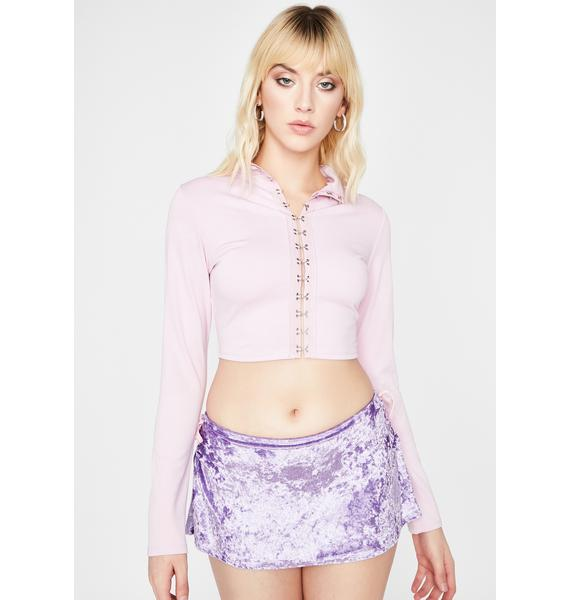 Make It Right Crop Top