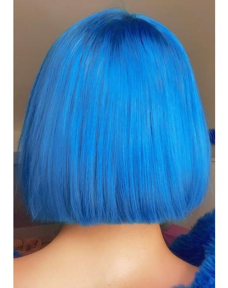 Blue Hair Drop It Dye Kit