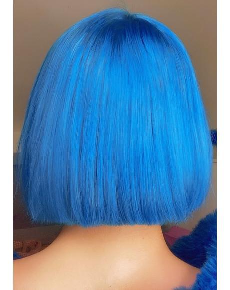 Blue Hair Drop It Dye Kit