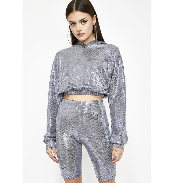 Blingin' Boss Babe Sequin Set