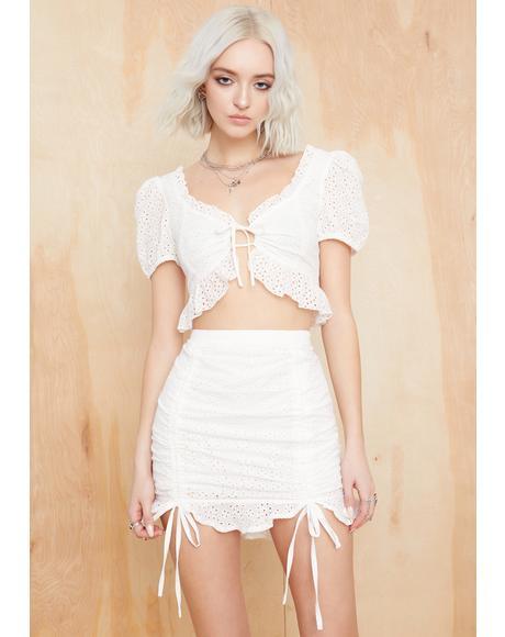 Wander Rush Cinched Skirt