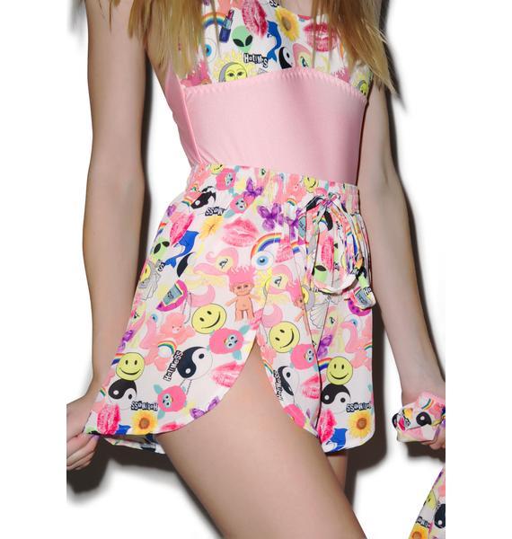 Hot!MeSS Toyshop Chiffon Scallop Shorts