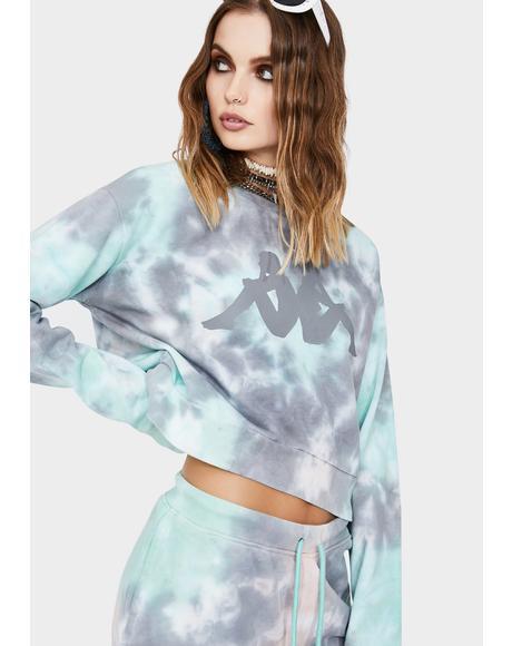 Authentic Galz Tie Dye Sweatshirt