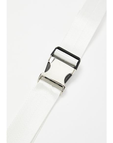 Safe Word Seatbelt Buckle Belt