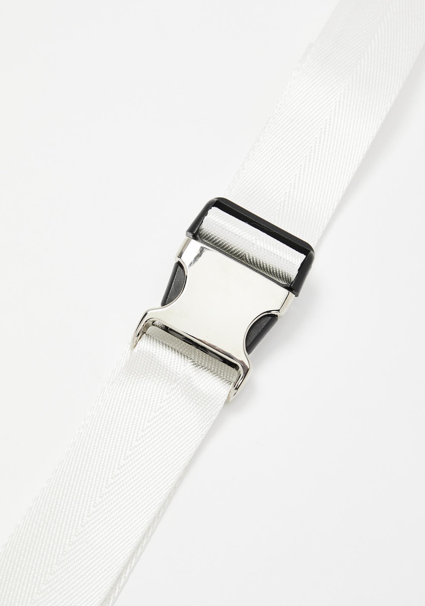 Safe Word Seatbelt Belt