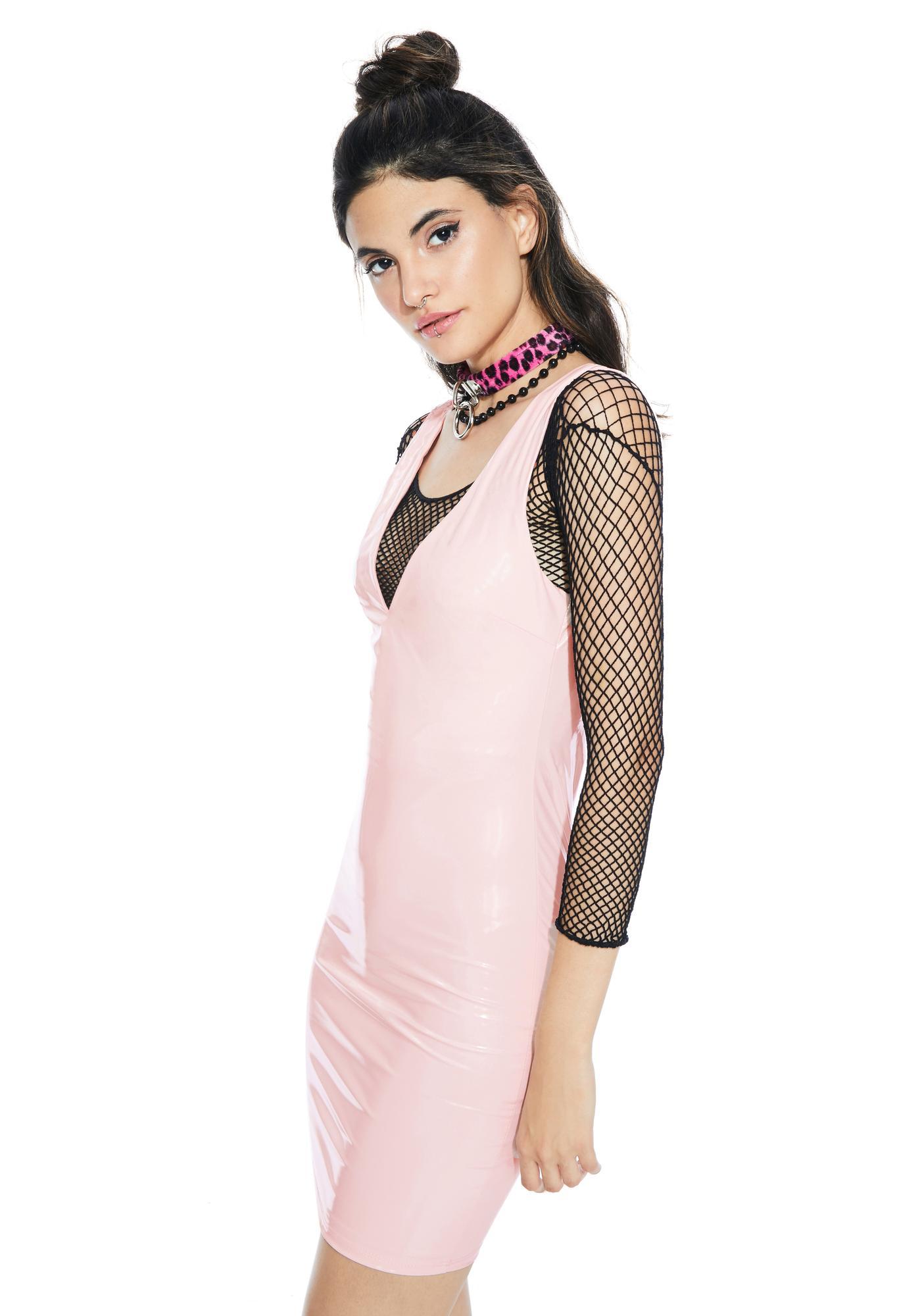 Candy Gurl Vinyl Dress