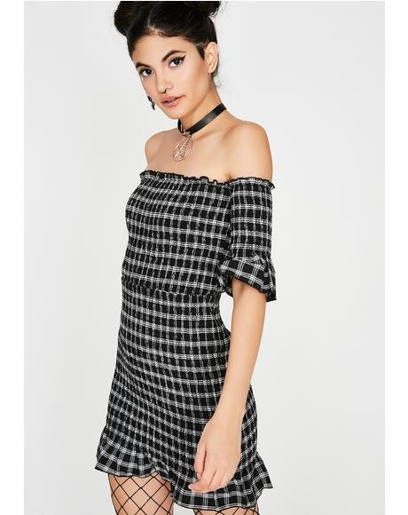 Special Treat Plaid Dress