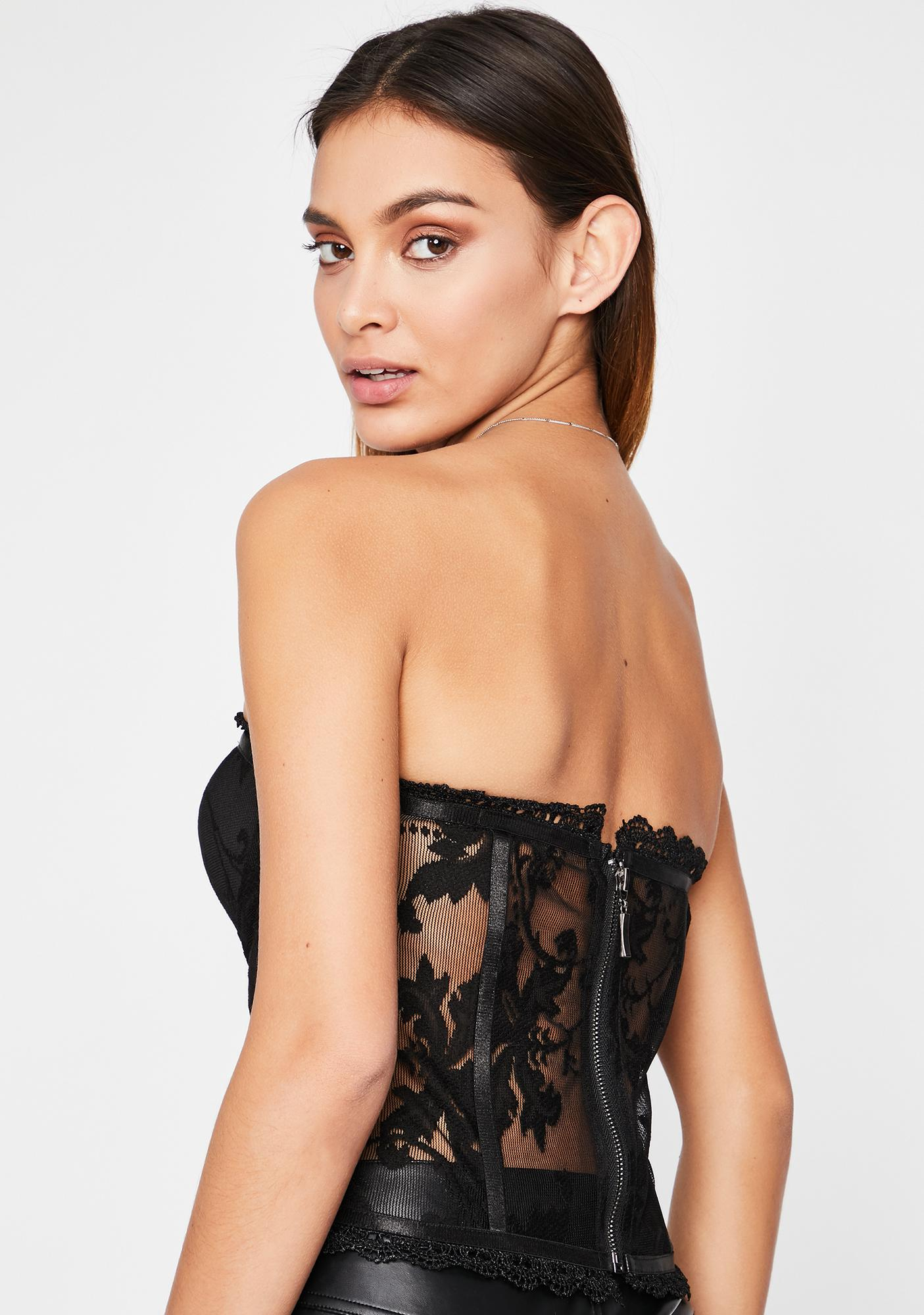 Love Like This Lace Bustier