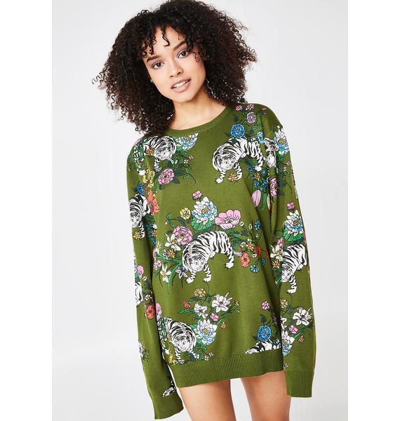 RIPNDIP Blooming Nerm Knit Sweater