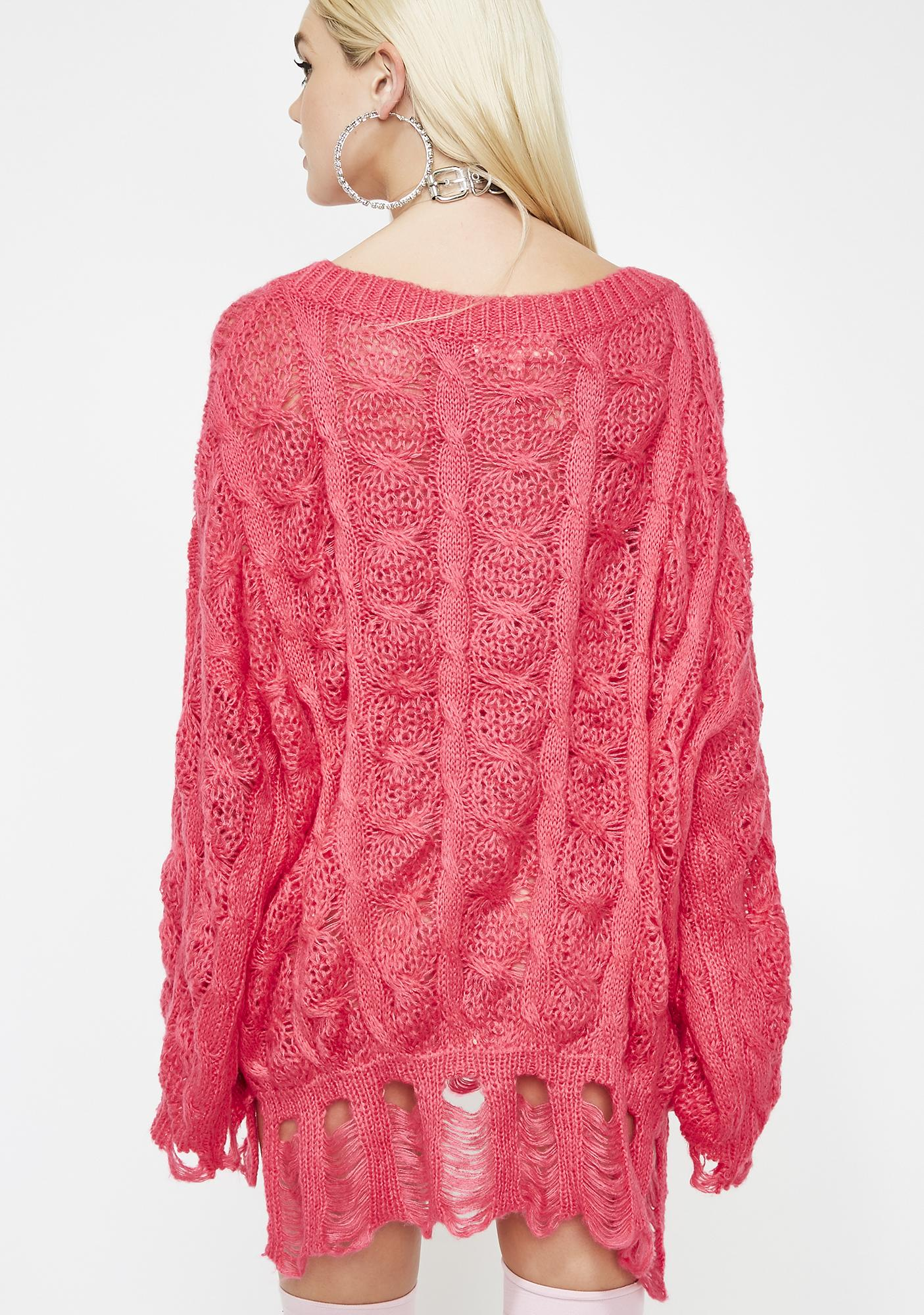 Sweet Movin' Mountains Knit Sweater
