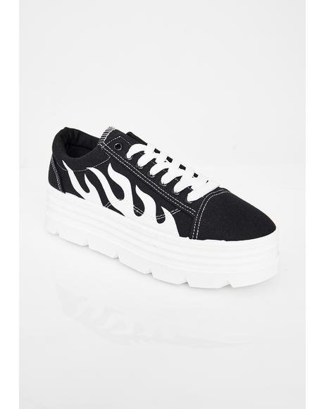 The Furies Platform Sneakers