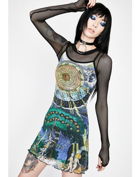 Illusions N' Delusions Mesh Dress
