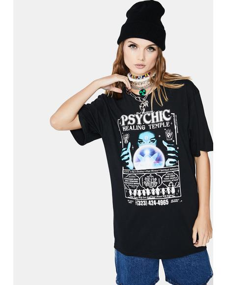 Psychic Temple Short Sleeve Graphic Tee