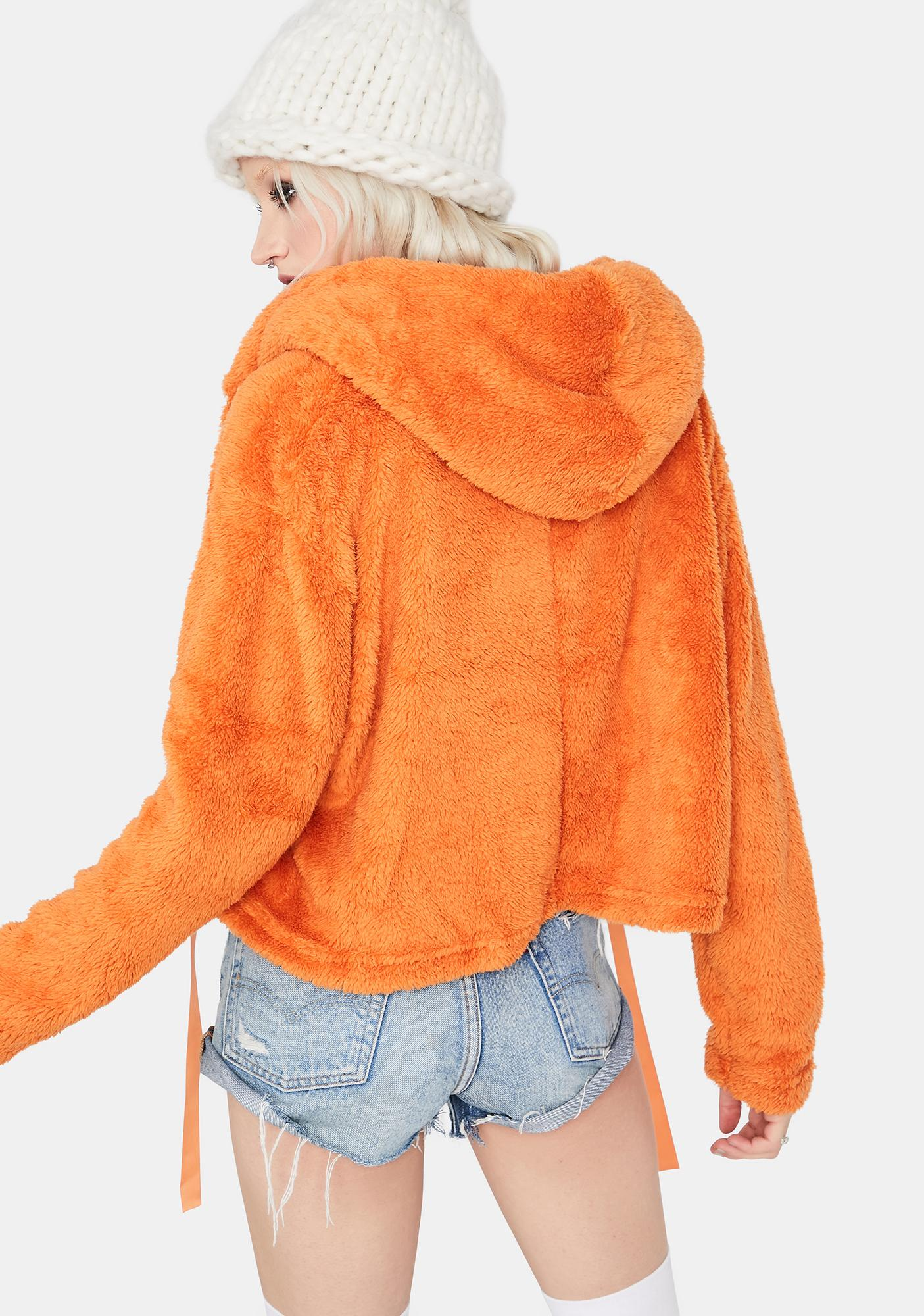 Amber Just Like Honey Fuzzy Hoodie