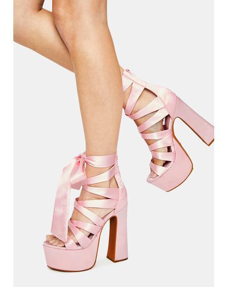 Classy Conduct Platform Heels