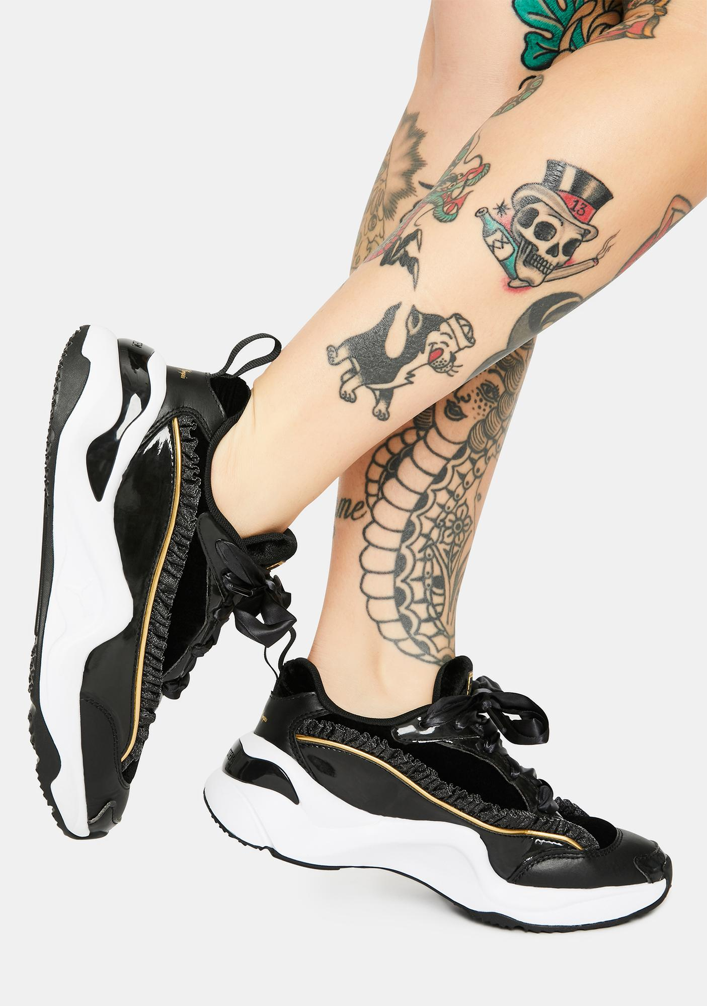 PUMA X Charlotte Olympia Rise NU Sneakers