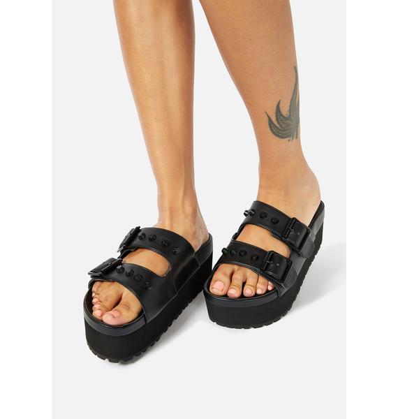 Charla Tedrick Pico Platform Slide Sandals