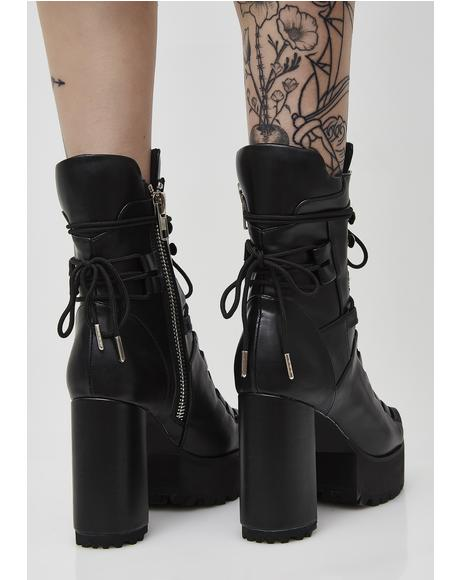Last Standing Lace-Up Boots