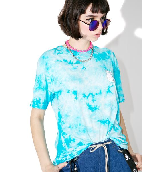 RIPNDIP Tie Dyed Cats Tee