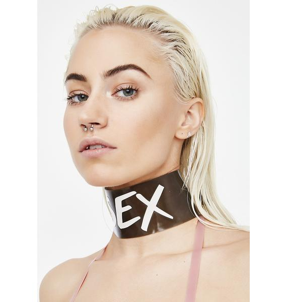 Meat Clothing Real Choker