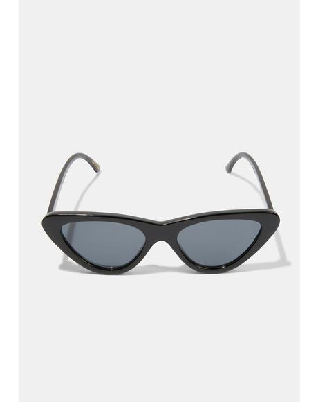 Zoe Black Smoke Sunglasses