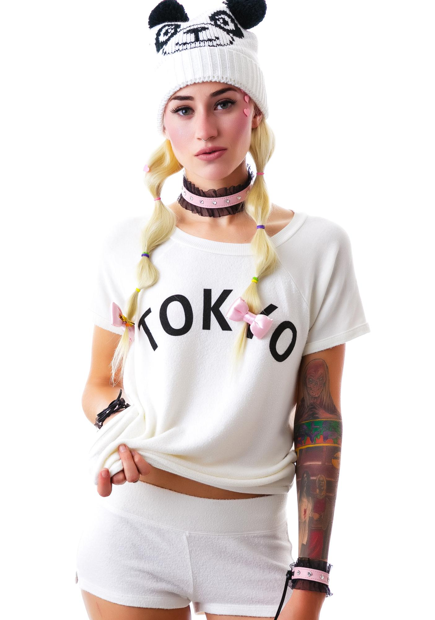 Wildfox Couture Simple Tokyo Yatch Club Short