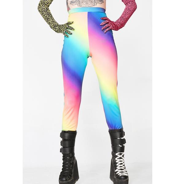 Club Exx Rainbow Bright Unisex Leggings
