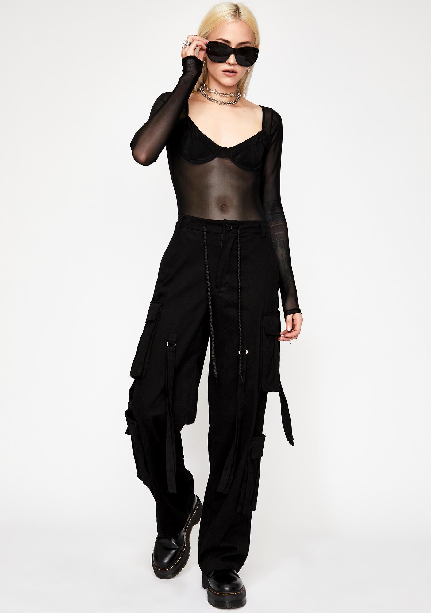 People Pleaser Sheer Bodysuit