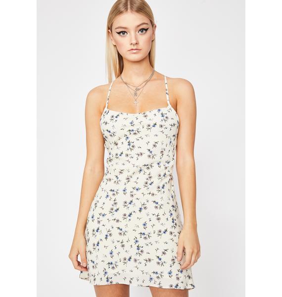 Flower Girl Mini Dress