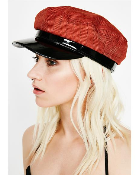 Rust Major Vibe Pinstripe Hat