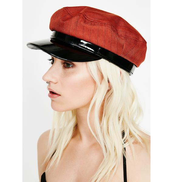 Rust Major Vibe Pinstripe Hat