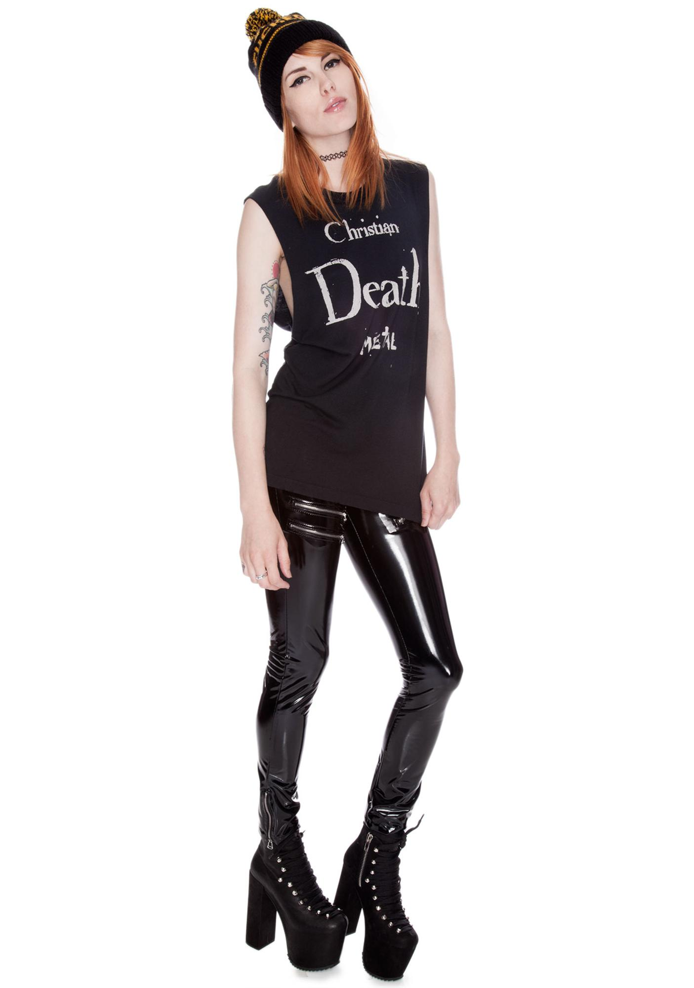 UNIF Christian Death Metal Muscle Tank