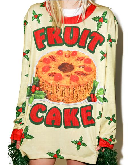 Fruit Cake Sweater Tee
