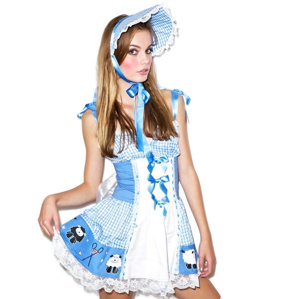 Lip Service Lil' Bo Peepin' Costume