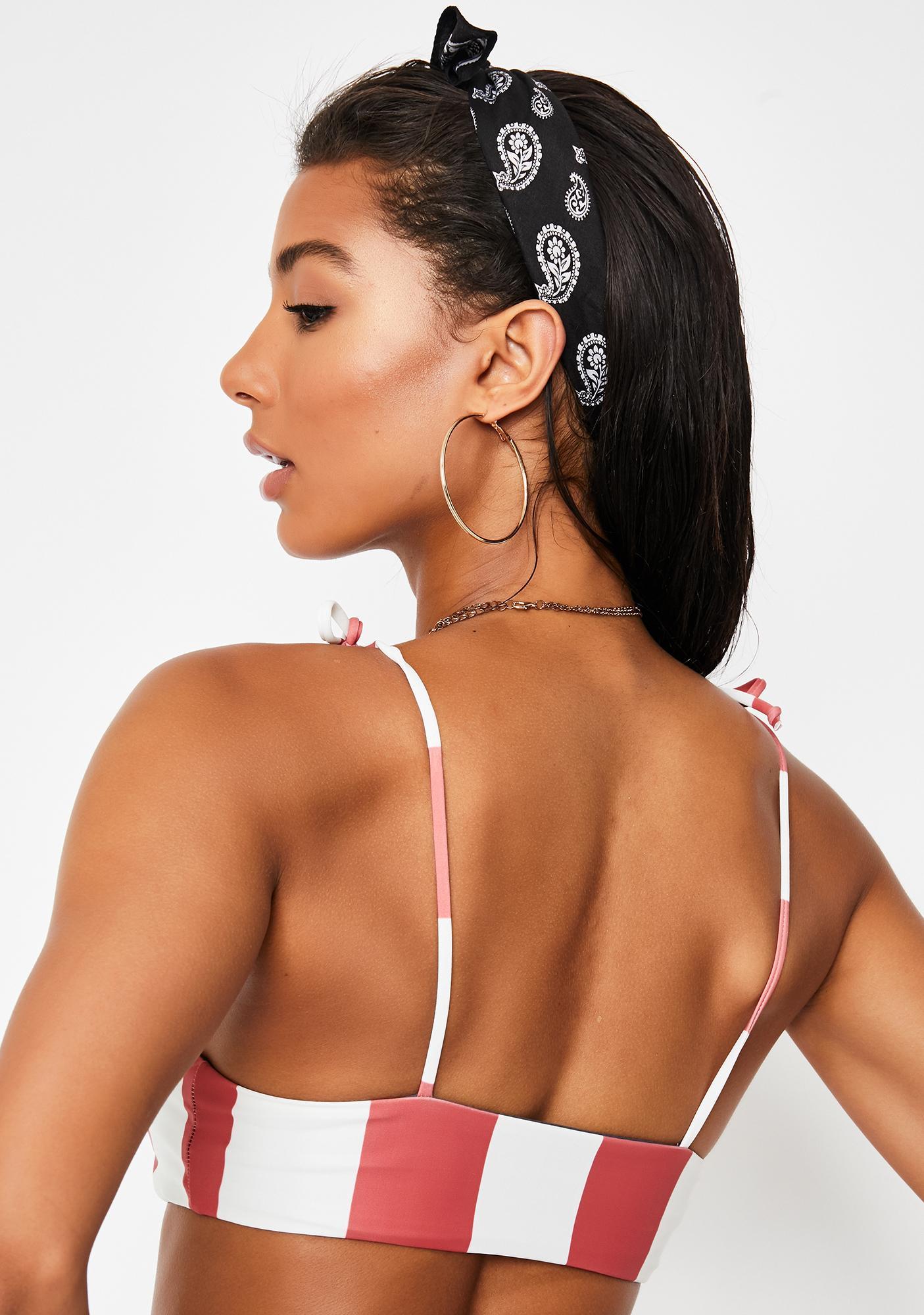 Lira Clothing Yvette Reversible Bikini Top