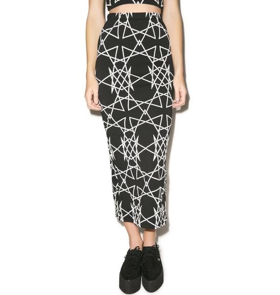 Long Clothing Infinity Skirt