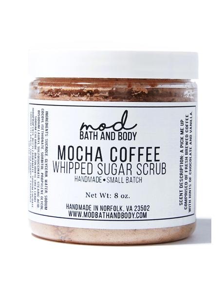 Mocha Coffee Whipped Sugar Scrub