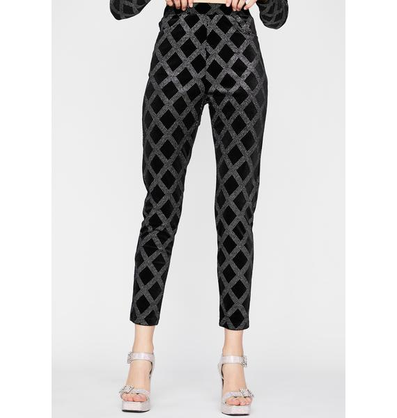 Diva Glam Rocker Velvet Pants