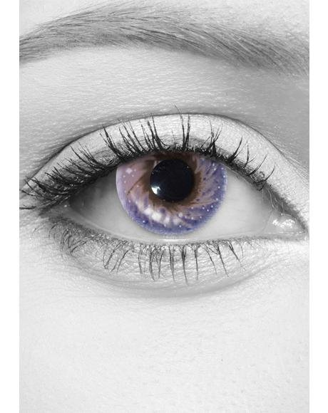 Starry Eyed Galaxy Contact Lenses